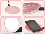 Led Makeup Mirror-Wireless Charger