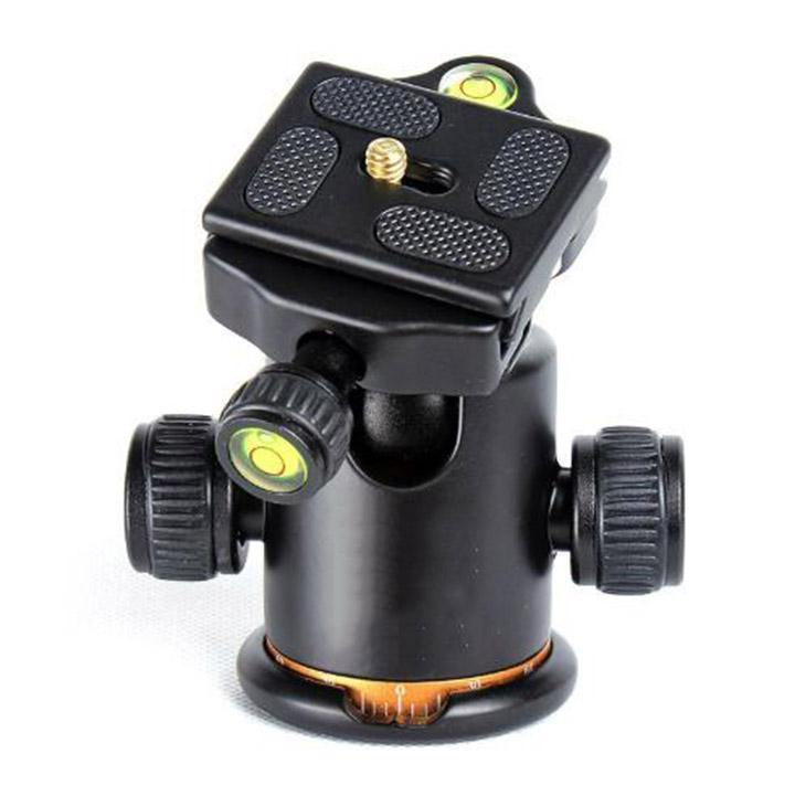 Aluminum Alloy Ball Head for Camera Tripod Slideway
