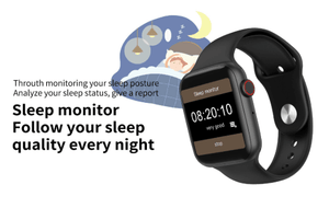 60% OFF-Heart Rate Monitor Smart Watch With ECG Sensor