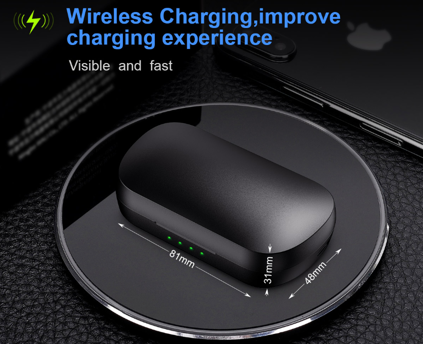 60% OFF- IP010 Plus Wireless Charging with Mobile Power,wireless sports swimming Earbuds