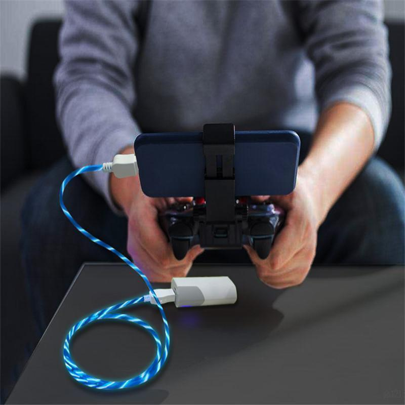 "Once Again Cut Prices--Only $7.99 - 90%OFF DISCOUNT - COOL LED ""LIGHT FLOW"" USB CABLE $7.99 $29.99"