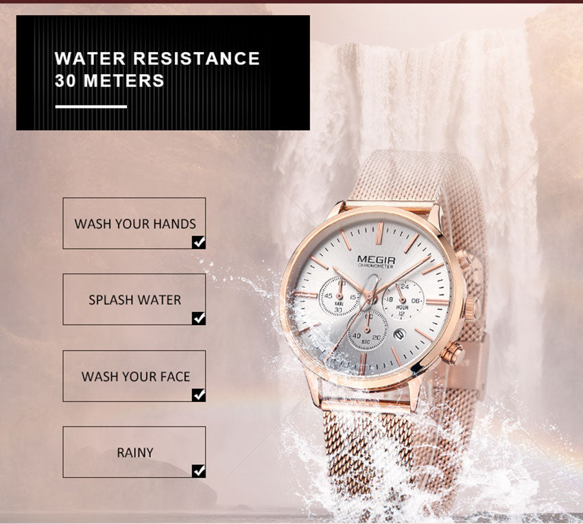 50% OFF-2019 New Woman's Chronograph Fashion Watch
