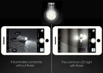 MINI LED Keychain Intelligent Flashlight - USB Rechargeable & Powerful Lumens