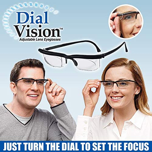 Adjustable Lens Eyeglasses