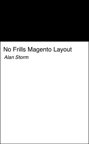 No Frills Magento Layout