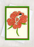 Flower Lady Card