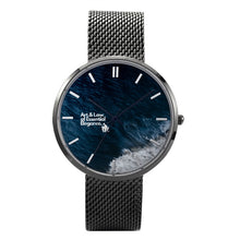 The Kinsman Oceanic 30 Meters Waterproof Quartz Watch With Casual Stainless Steel Band