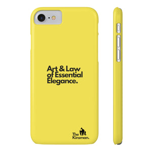 The Kinsman Case Mate Slim Phone Cases