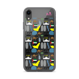 The Kinsman UAE Remarkable Sights iPhone Case
