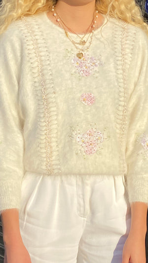 Angelic Bouquet Bat Wing Angora - Size Small to Large