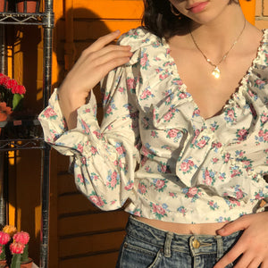 Poet Blouse in Diana