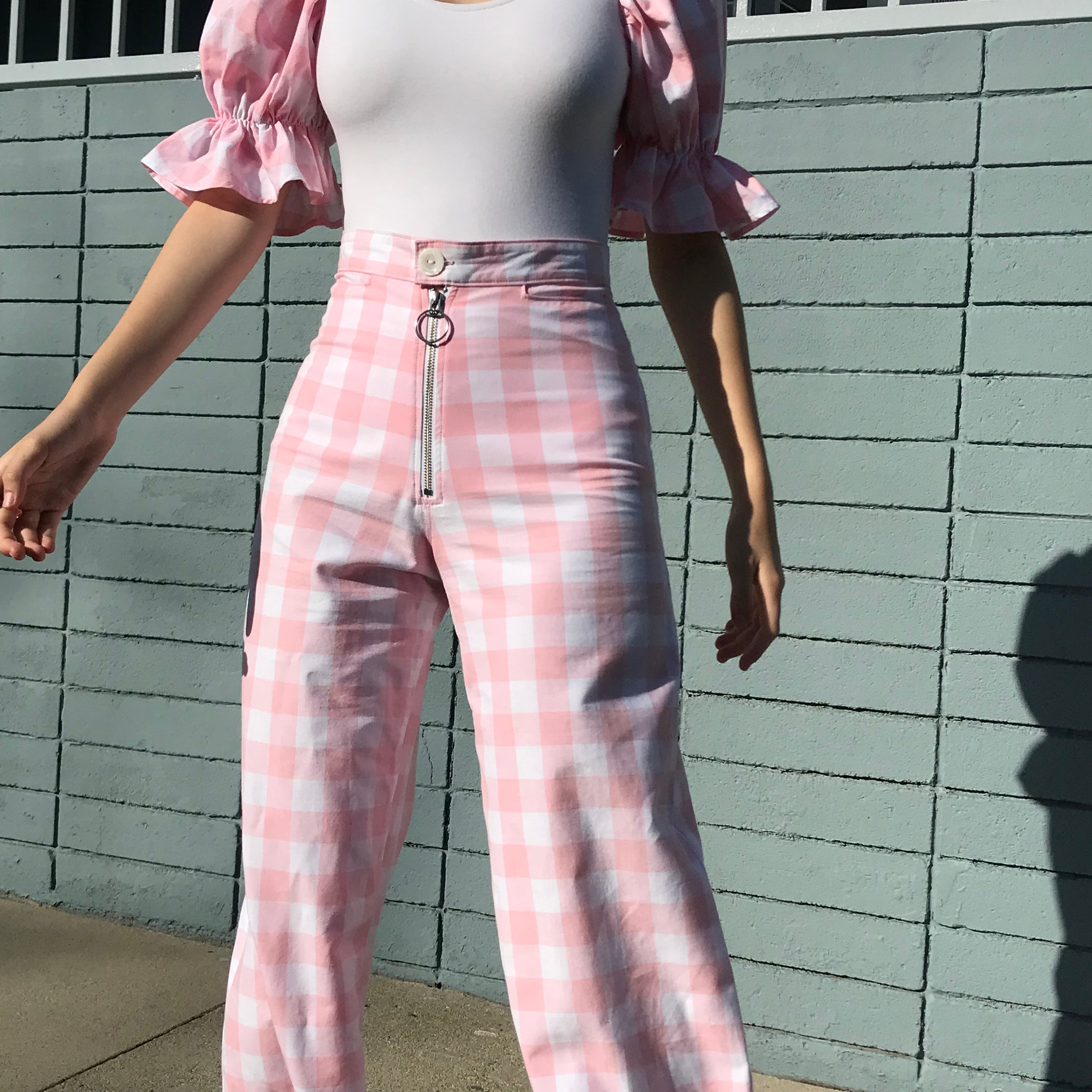Picnic Pant in Carnation -made to order- AT COST $25 FINAL SALE