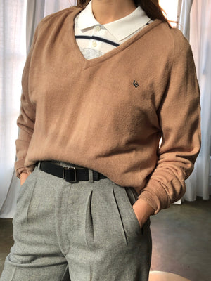 Vintage Latte Dior Pullover - Size Small To Large
