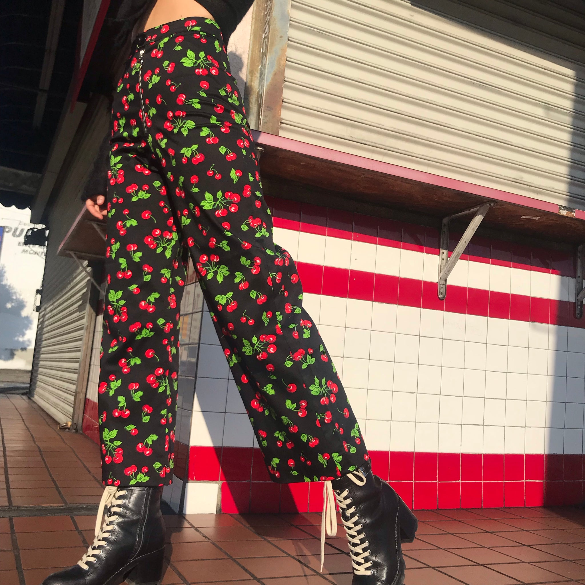 Cherry Sailor Trouser -made to order- AT COST $42