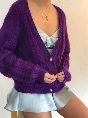 Amethyst Mohair Size Sm-Md