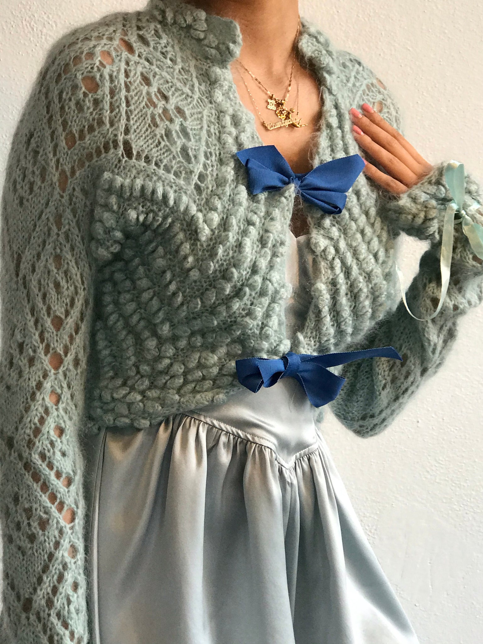 Vintage Bluebell Knit Size Sm-Md