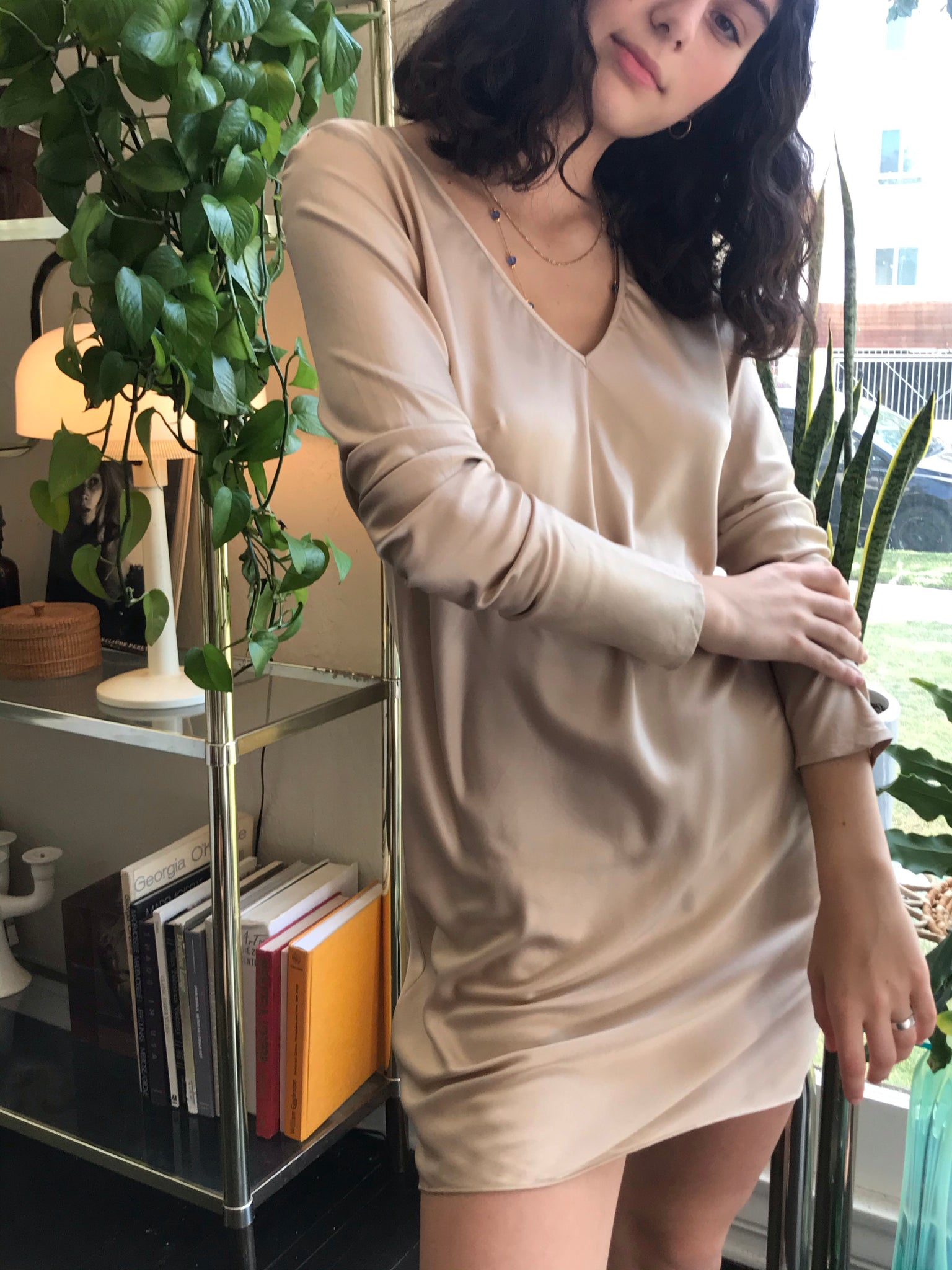 Minimal Golden Nude Silk - Size 2 to 4