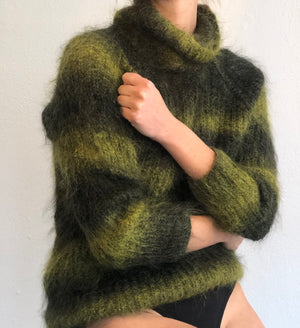 The Best 1990s Grunge Era Mohair Knit - Size Small To Large