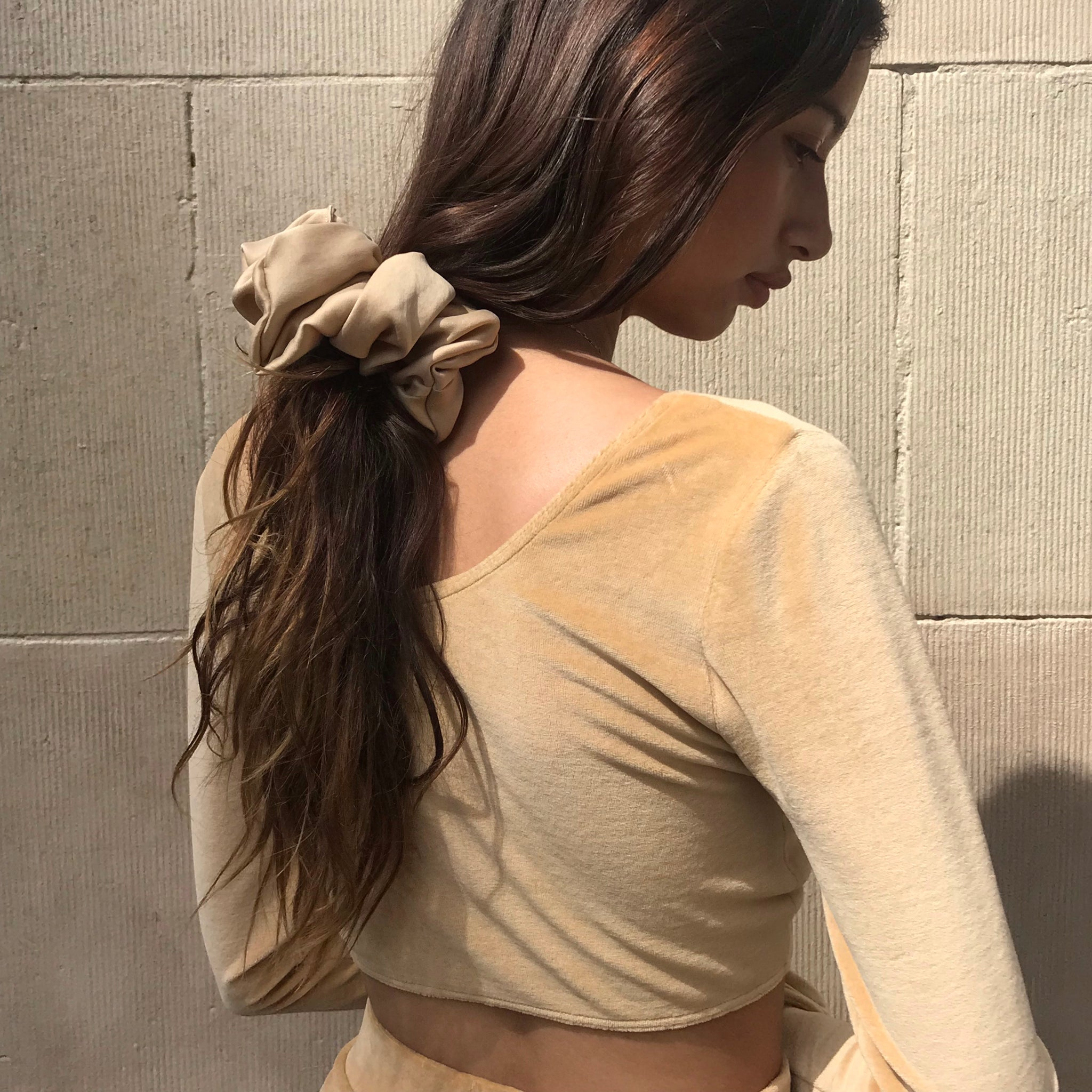 Selena Tie Top in Honey AT COST $25 FINAL SALE