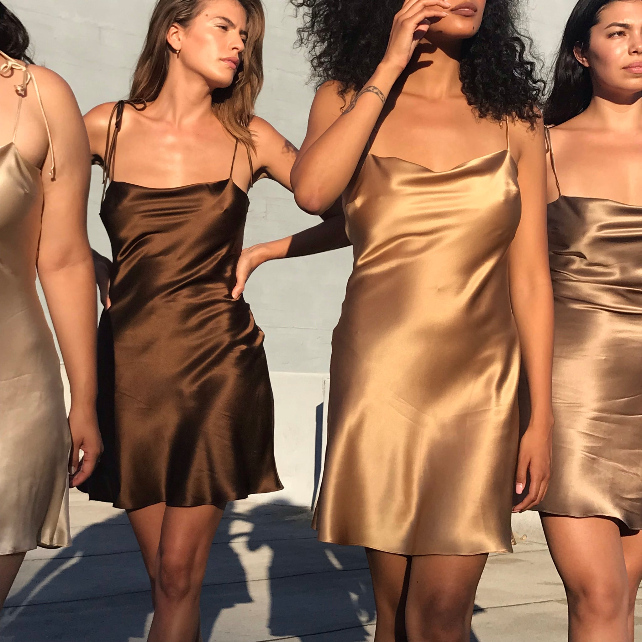 Venus Dress In Chocolate