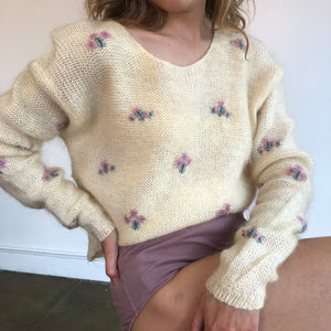 Vintage Mohair Knit Size - Small - Medium