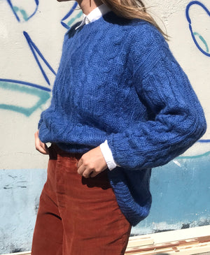 Vintage Mohair Knit- Size Small - Medium