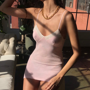 Pale Blush Slip - Size Small To Medium