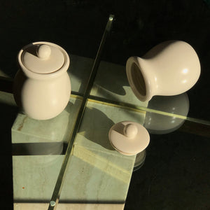 Minimal Overglazed Jar Set