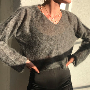 Vintage Mohair Knit- Size Medium