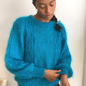 Ultra Fuzzy Vintage Mohair Knit