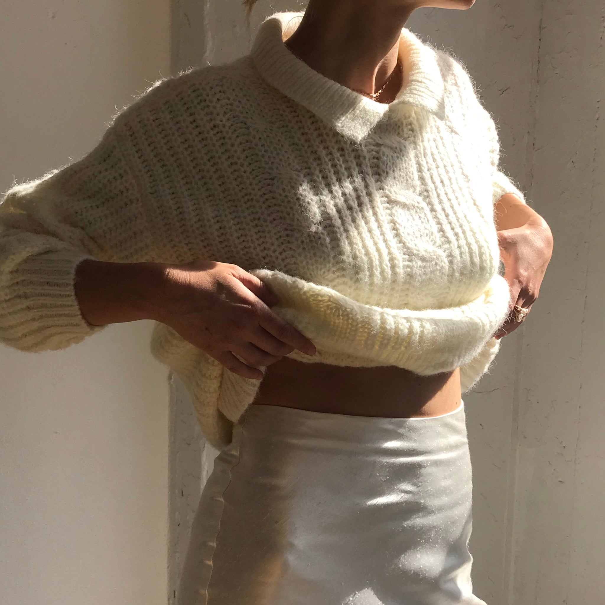 Vintage Mohair Knit- Size Medium/Large