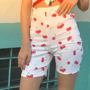 Bettina Cycle Short In Cherry - AT COST! $32 FINAL SALE