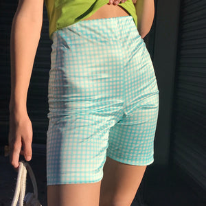 Bettina Cycle Short In Aqua - AT COST! $32 FINAL SALE
