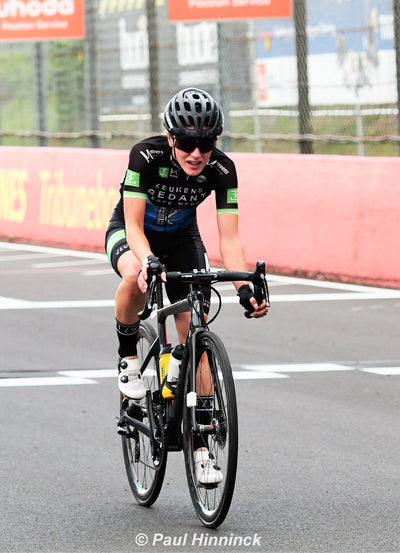 Imogen Cotter's first Belgian victory!