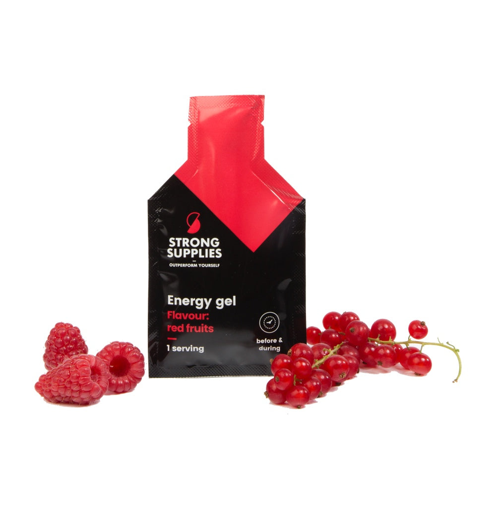 Energy gel - Red fruits (10 x 35g)
