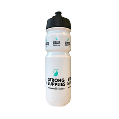 Strong Supplies drinking bottle with Shanti cap - 750 ml