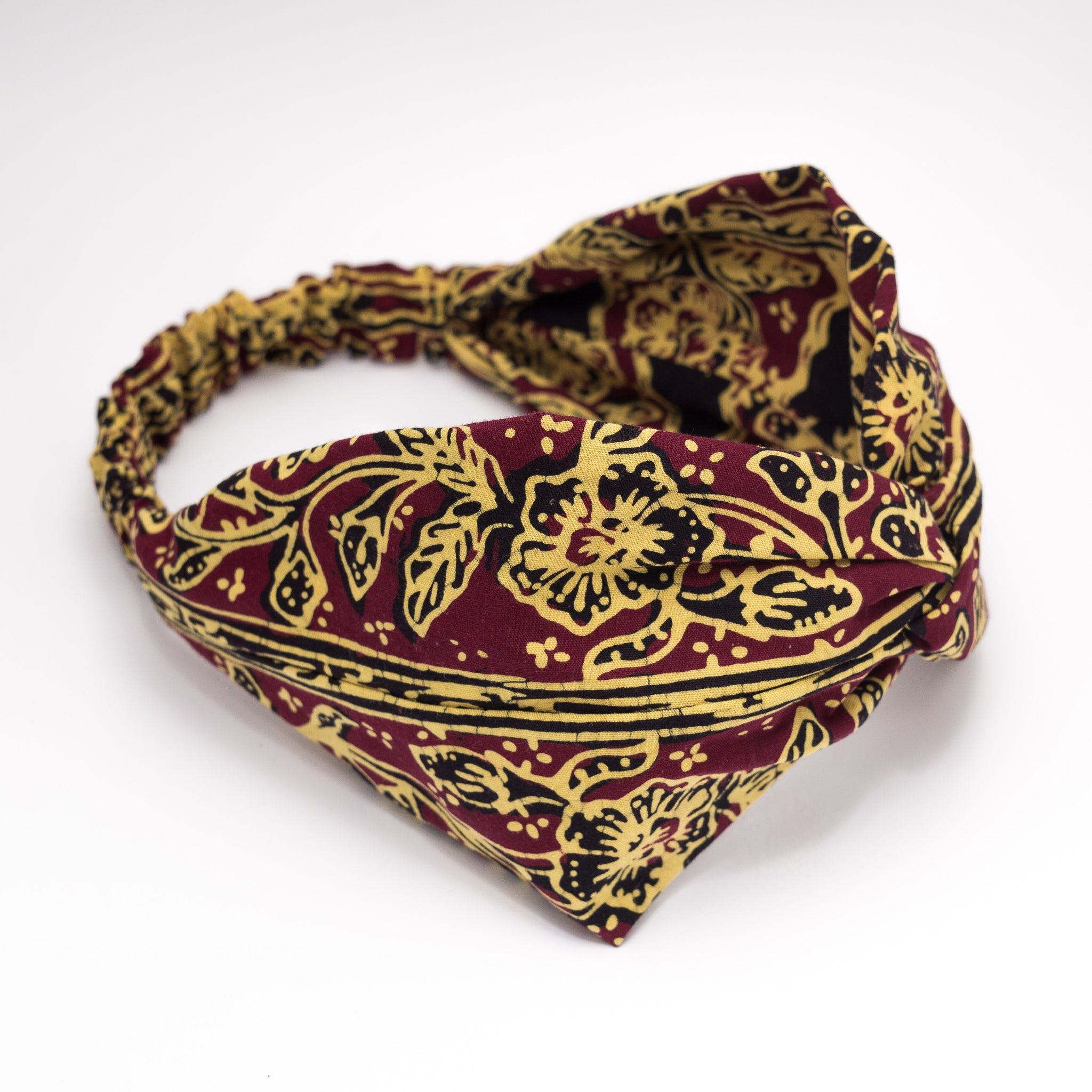 WARDAH Twisted Batik Headband (Click to View Multiple Variations)