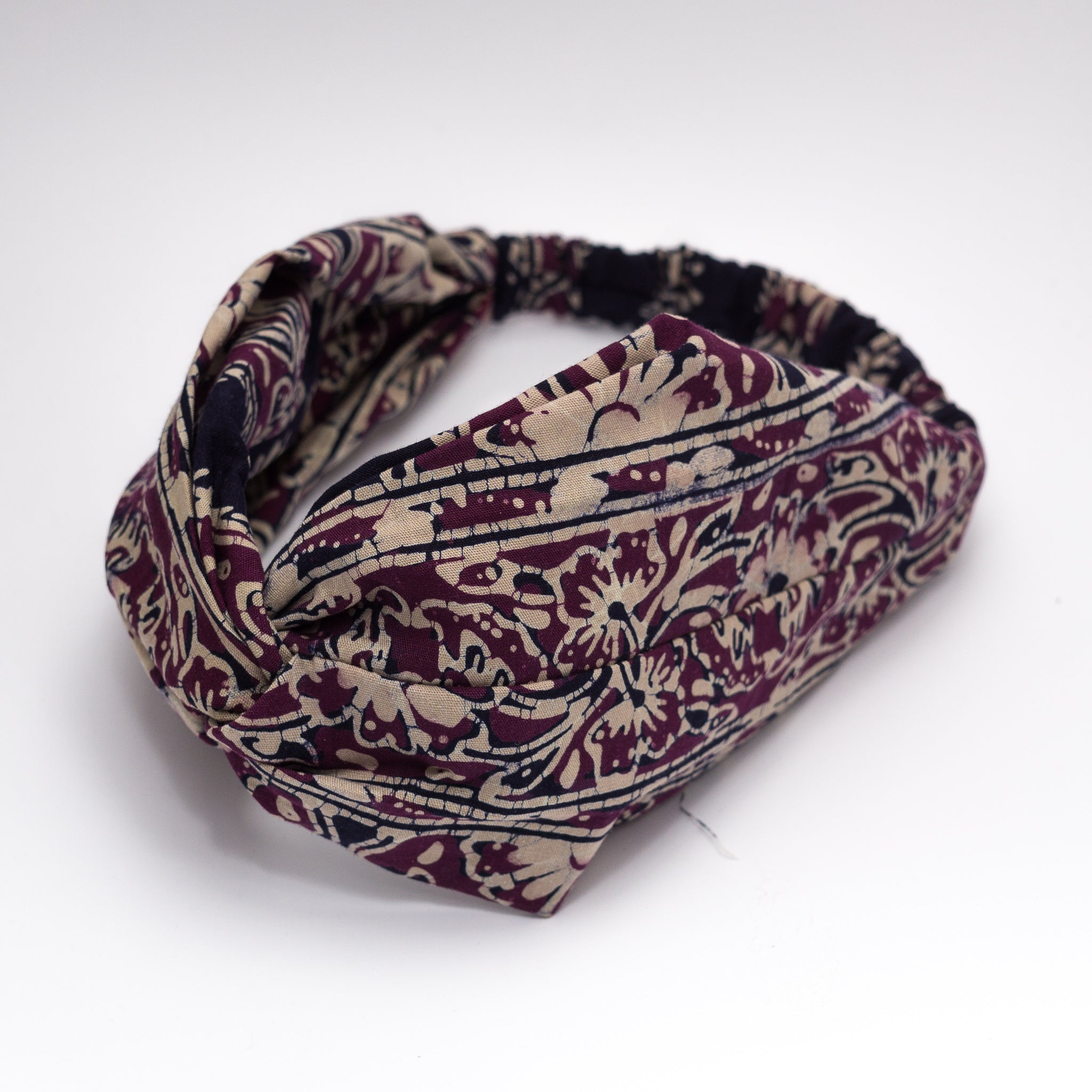 ORKED Twisted Batik Headband
