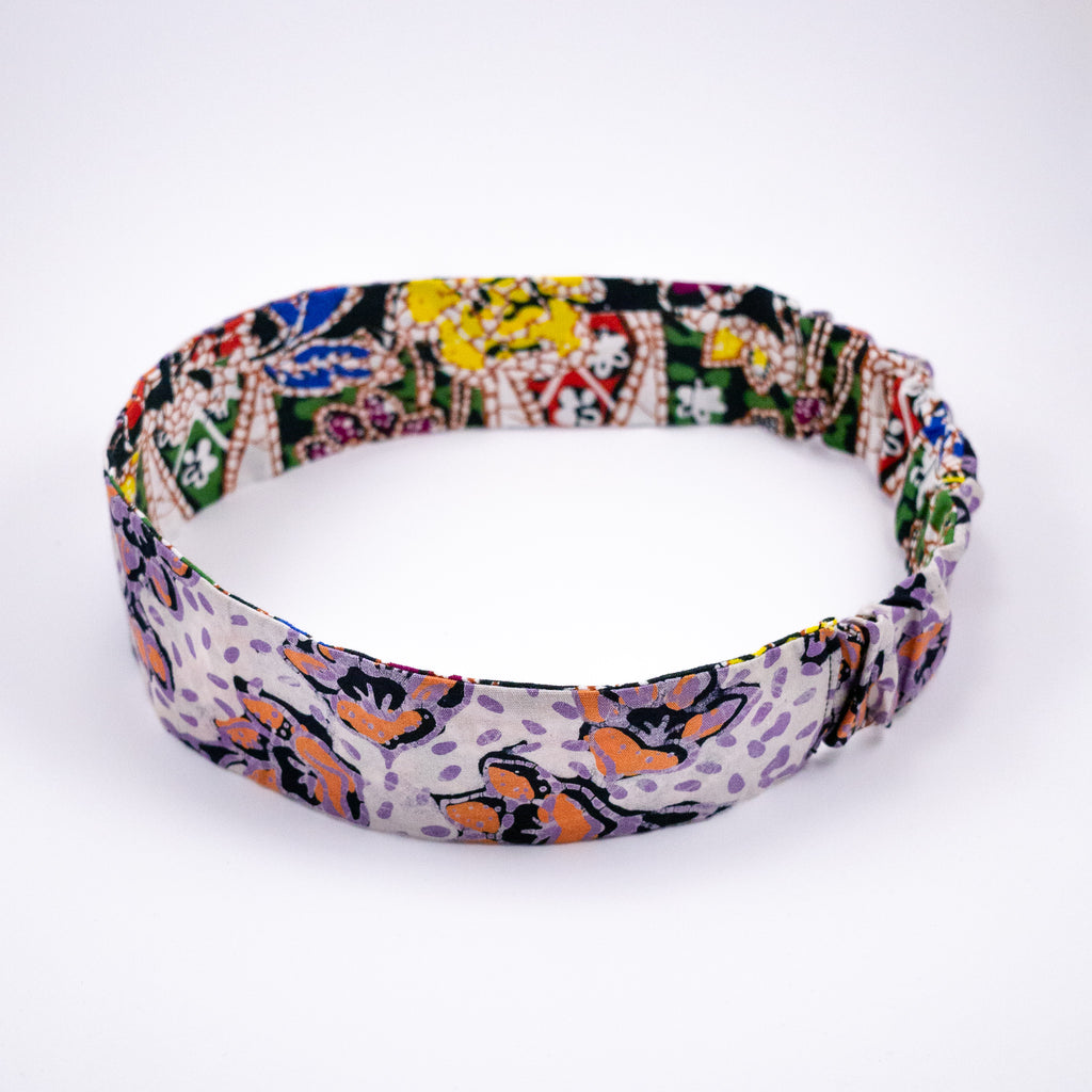 GAIA Reversible Batik Headband