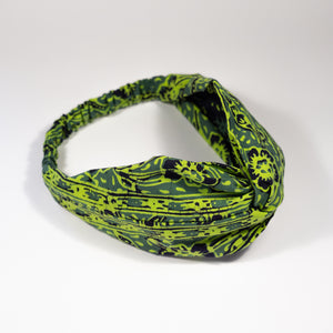 XENA Twisted Batik Headband