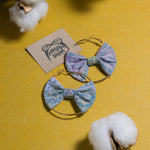 JANICE Batik Bow Hoops (Mini)
