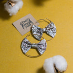 DARYA Batik Bow Hoops (Mini)