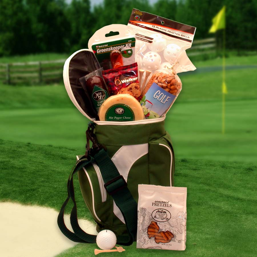 Golfing Around Golf Sports bag -  Golf Lovers - Real Estate Closing gifts, Housewarming gifts