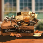 Welcome Home Gift Basket - Real Estate Closing gifts, Housewarming gifts