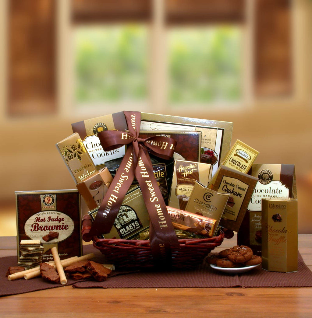 A Special Home Coming Gift Basket - Real Estate Closing gifts, Housewarming gifts