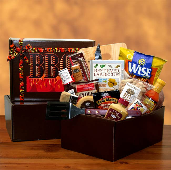 The Barbecue Master Gift Pack- BBQ Lovers - Real Estate Closing gifts, Housewarming gifts