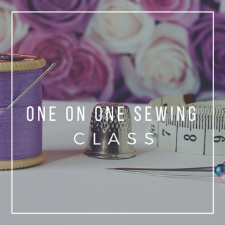 1 Hour One on One Sewing Class in Jacksonville, FL Area
