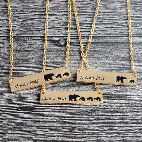Image of FREE - Mama Bear Necklace - Just Pay Shipping