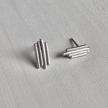 Load image into Gallery viewer, Solidarity - sterling silver ear studs