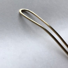 Load image into Gallery viewer, Brass hair fork